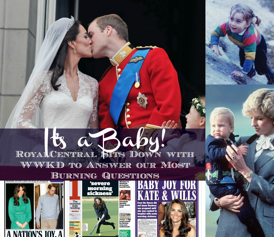 William and Catherine are expecting!! Your guide to Kate Middleton's baby, the future prince or princess!