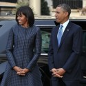 FLOTUS Style: Michelle Obama&#8217;s Inauguration Style (with Kate inspired Bangs?!)