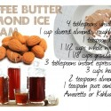 Cooking Like a Duchess : Coffee Butter Almond Ice Cream