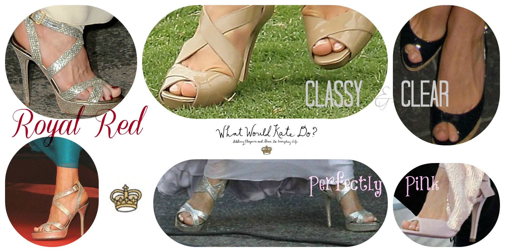 Kate Middleton-inspired Pedicure