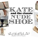 Wardrobe Wednesday: The Nude Shoe