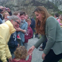Surprise! Kate Helps Open Ring of Fire Marathon