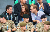 Kate at the Commonwealth Games – Day 2 in Glasgow