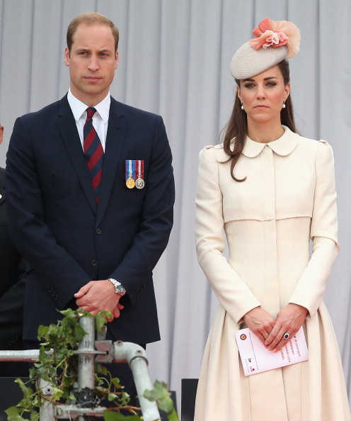 The Duke & Duchess Of Cambridge Attend A Service Of Remembrance