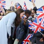 The Duchess of Cambridge Carries Out Engagements in Kensington