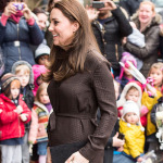 The Duchess of Cambridge visits Fostering Network in London