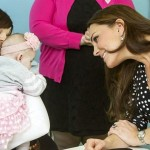 The Duchess of Cambridge visits Brookhill Children's Centre with Home Start UK