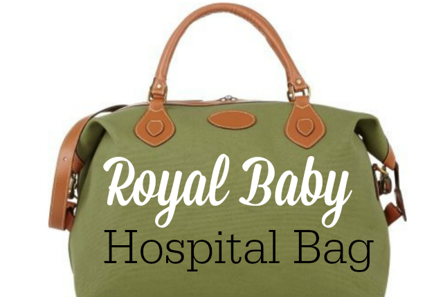 Royal Baby Hospital Bag Feature Logo
