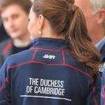 The Duke and Duchess of Cambridge visit rainy Portsmouth for the Americas Cup