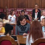 The Duchess of Cambridge Meets with Chance UK