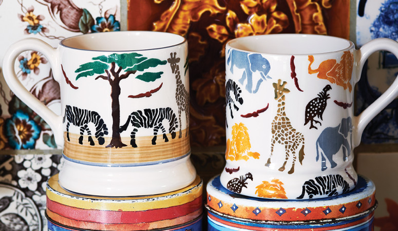 Emma Bridgewater releases Tusk Trust charity collection