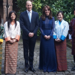 Kate & William Welcome Young People from India and Bhutan