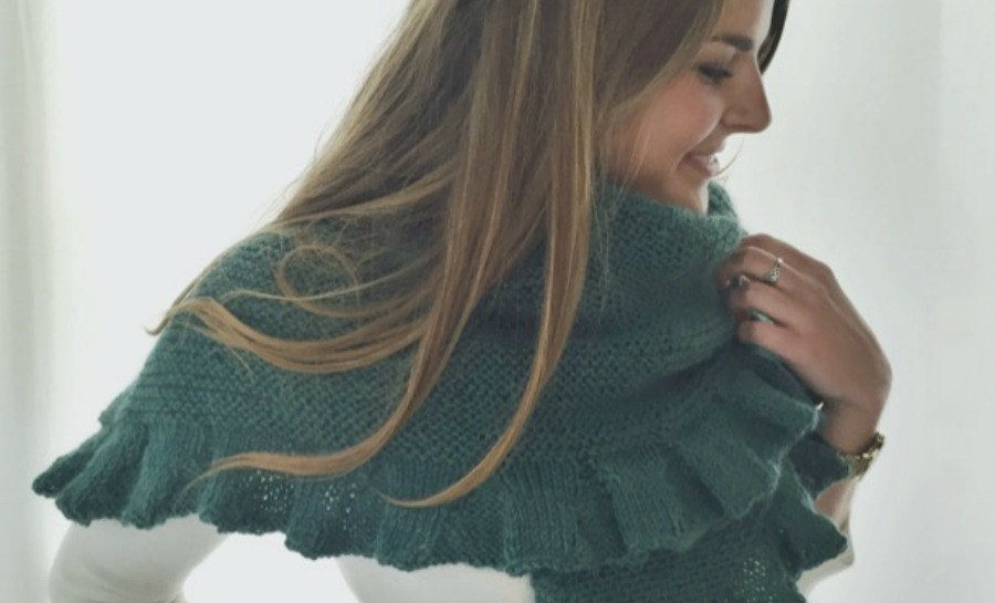 Knitting Pattern For Kate Middleton s Shawl : Would Kate Knit? - What Would Kate Do?